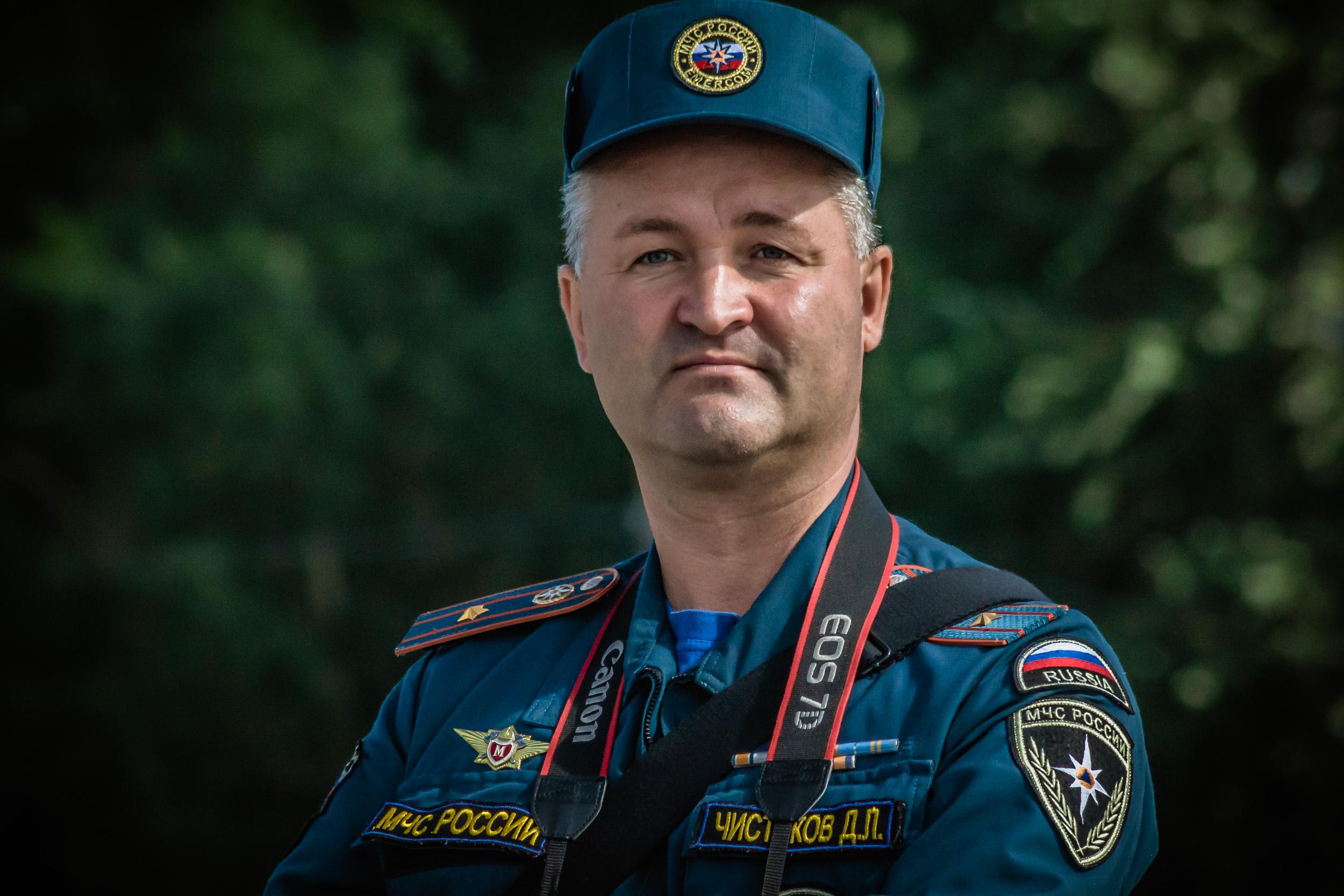 Чистяков Дмитрий Леонидович, майор, начальник пресс-службы МЧС Архангельской области